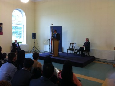 Eoghan at the Citizenship Ceremony