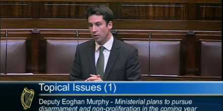 Eoghan Murphy, 22nd Sept. 2011