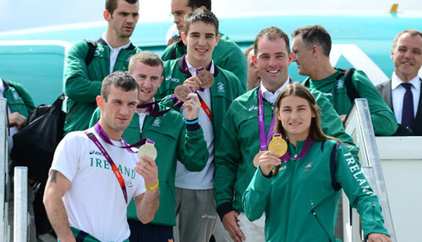 The Olympic Athletes come to Dublin