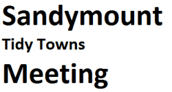 Sandymount  Public Meeting