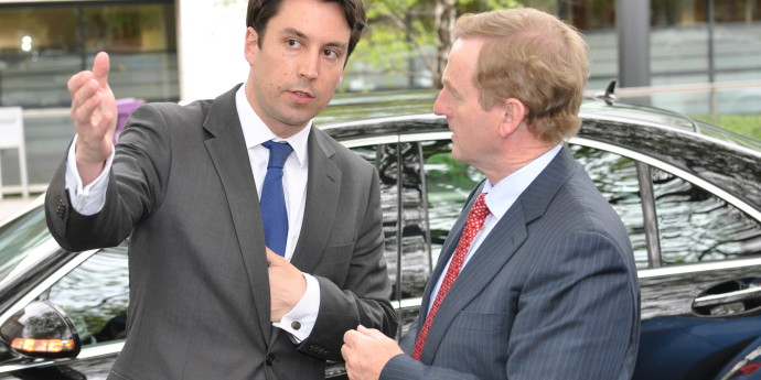 Eoghan and The Taoiseach