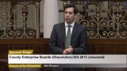 County Enterprise Boards (Dissolution) Bill 2013