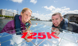 24-5-2015 No Repro Fee **OLYMPIC ATHLETES DERVAL O'ROURKE AND PADDY BARNES CALL FOR NEW IDEAS TO GET PEOPLE MORE ACTIVE, MORE OFTEN:*** Picture shows from left  Derval O'Rourke and Paddy Barnes who today announced that €125,000 is available for projects that have new ideas to get people more active, more often. The Coca-Cola Thank You Fund will once again award five separate €25,000 grants to organisations that have a new idea to encourage people to be more active, more often. Non-profit and voluntary organisations in Ireland and Northern Ireland can apply up until the 29th June 2015 at coca-cola.ie/thankyou. Michael Ring TD, Minister of State for Tourism and Sport, joined Derval O'Rourke and Paddy Barnes, this year's Coca-Cola Thank You Fund ambassadors, to launch the funding opportunity. The Federation of Irish Sport and the Northern Ireland Sports Forum are partners with the Coca-Cola Thank You Fund.Pic:Naoise Culhane-no fee