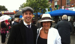 EM and Edie Wynne Bloomsday 2012