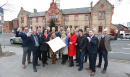 "NO REPRO FEE 05/12/2016. ""Dublin City Council, SEAI, Codema, Watt Less and St Patrick's Credit Union all gathered with staff from St Andrew's Resource Centre to mark the Better Energy Communities project which upgraded 120 lights in the centre to LEDs and will result in energy savings of over euro15,000 per year."" You might want to add as an aside that they can contact suzanne.fitzpatrick@codema.ie for further info on this project. Photography: Sasko Lazarov/Photocall Ireland"