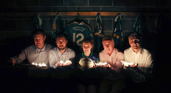 "No repro fee 19/4/2017 Politicians unite behind Clanna Gael Fontenoy GAA Club  in support of the ""Darkness into Light"" walk for Pieta House on May 6th  Picture shows from left Politicians unite behind Clanna Gael Fontenoy GAA Club in support of the ""Darkness into Light"" walk for Pieta House on May 6th  Deputy Jim O'Callaghan (Fianna Fáil);Minister Eoghan Murphy (Fine Gael);Maria O'Dea,Clanna Gael Fontenoy and Dublin minor footballer;Senator Kevin Humphreys (Labour) and Councillor Chris Andrews (Sinn Féin). Minister Eoghan Murphy (Fine Gael), Deputy Jim O'Callaghan (Fianna Fáil), Senator Kevin Humphreys (Labour) and Councillor Chris Andrews (Sinn Féin) have set their party and constituency differences aside to form a united team behind the Clanna Gael Fontenoy GAA Club's support for the Pieta House ""Darkness into Light"" walk on 6th May.   Straddling Ringsend and Sandymount in Dublin, the Clanna Gael Fontenoy club in Sean Moore Park will be the starting and finishing point for the very first ""Darkness into Light"" walk to take place in the Dublin City Council area.  More than 2,000 participants are expected to participate.   As well as opening up the club facilities to the participants, Clanna Gael Fontenoy will also be providing a large number of volunteers to help ensure a successful event.   ""Darkness into Light"" is the main fund raiser for Pieta House (www.pieta.ie ), a charity which raises awareness of self-harm and suicide and enables them to provide life-saving support to people in need.Pic:Naoise Culhane Photography-no fee For Further Info: Felix O'Regan 087 6481644 PRO Clanna Gael Fontenoy GAA Club Pic:Naoise Culhane Photography-no fee"