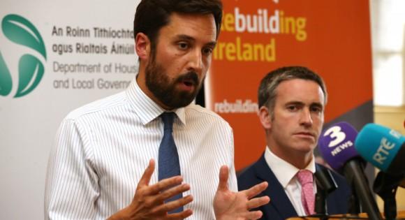 EM podium Housing Summit